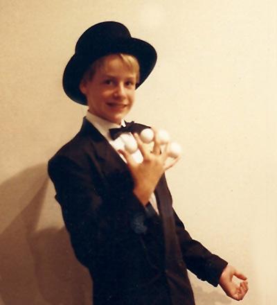 1987 Photo - Age 11