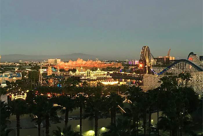 Paradise Pier view