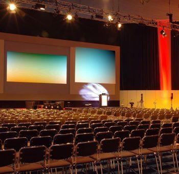 Conference Speaker Setup