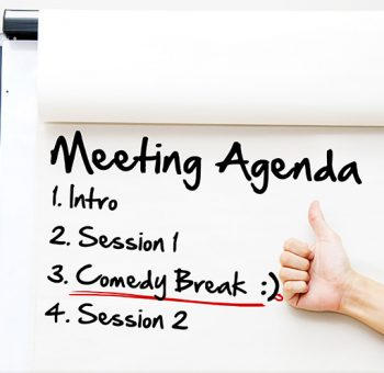 Humor helps companies create great meetings