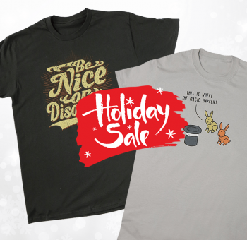 Holiday sale 2017 - $8 funny tees
